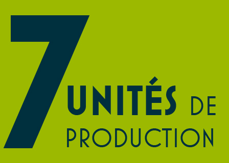 7 unites de production